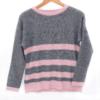 pull laine rayé