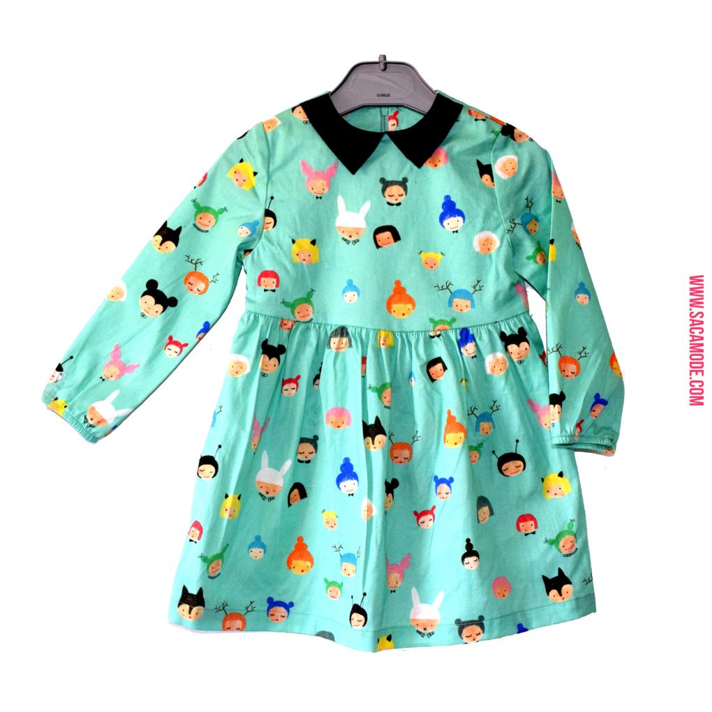 robe_fille_vert